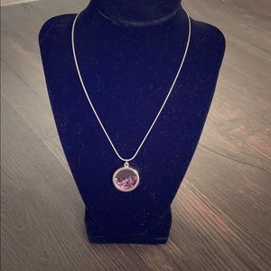 Jewelry - Shades of Purple Shadow Box Necklace